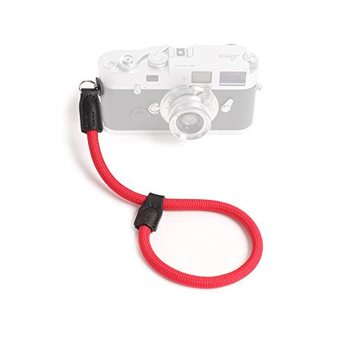 Cam-in Outdoor Series High Strength Climbing Rope Camera Wrist Band Suitable for Round Hole Interface Cameras (Red)