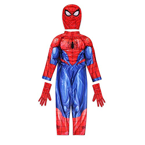 Disney Store Spider-Man Costume for Kids - 7-8 Years Red
