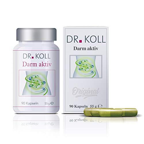 Dr. Koll Darm aktiv | Pflanzenextrakt, 100 % vegan | Höchste Bioqualität, in Deutschland hergestellt | Aufbau der Darmflora | Natürliches Nahrungsergänzungsmittel (90 Kapseln, 55 g)