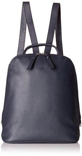 BREE Collection Damen Cary 4, Backpack Henkeltasche, Blau (Navy), 12.5x32x27 cm