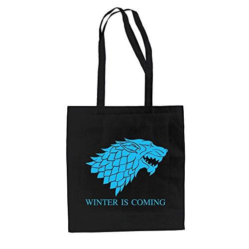 Baumwolltasche Jutebeutel Game of Thrones Tasche Schattenwolf Dire Wolf