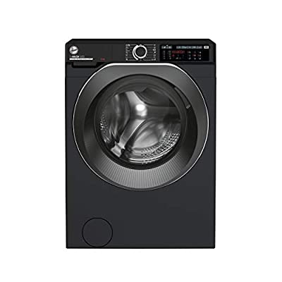 Hoover H-Wash 500 HWD69AMBCB Free Standing Washing Machine, Care Dose, A+++, 9 kg, 1600 rpm, Black