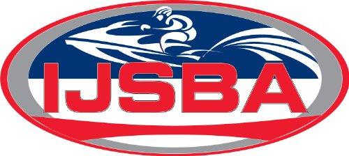 "IJSBA Jet Sports Boating Car Bumper Decal Sticker 6"" x 3"""