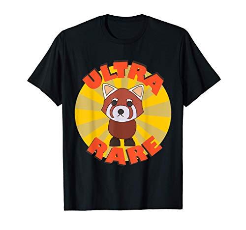 El equipo Ultra Rare Red Panda Adopt Me Gaming Camiseta
