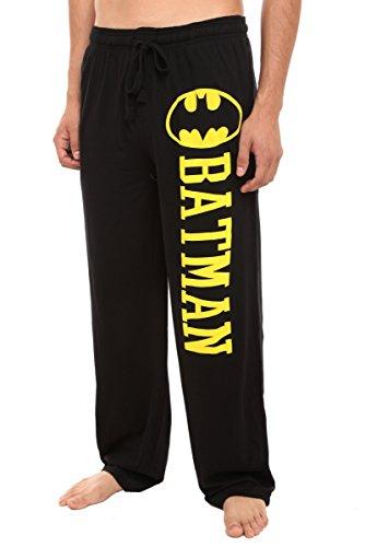 Hot Topic DC Comics Batman Guys Pajama Pants, Black, X-Large