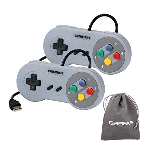 geeekpi 2/Lot USB-Controller Game Pad Joypad Joystick für PC Raspberry Pi 3 Modell B retropie