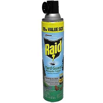 Raid Yard Guard Mosquito Fogger 20oz - 3 Pack
