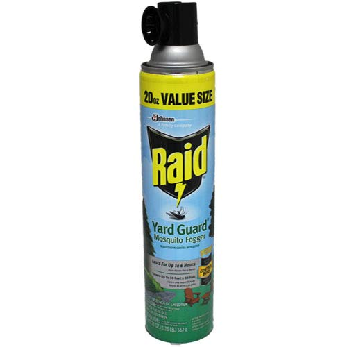 Raid Yard Guard Mosquito Fogger 20oz - 3 Pack