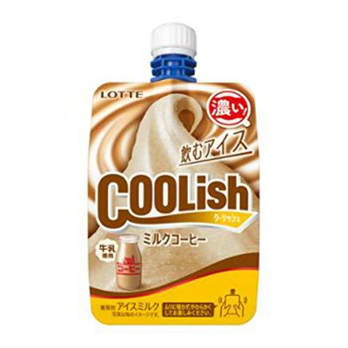 (冷凍)ロッテ クーリッシュ ミルクコーヒー 135ml×24個入 /アイスクリーム