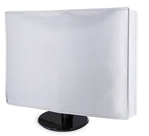 Dorca Best Protective Monitor Dust Cover for Dell New Inspiron 24 5000 All-in-One Desktop Computer 24-inch - White