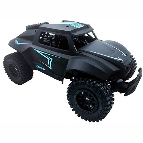 F.O.G. 4WD Off Road Rock Crawler, 1/12 Scale RC Remote Control Car, 2.4Ghz Electric Fast Buggy Hobby Car, with Rechargeable Batteries, for All Adults & Kids,Black