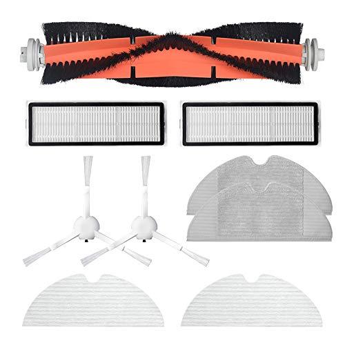 Fransande - Accessoires d'aspirateur lavables pour robot Dreame F9 - Balai à serpillière latérale - Filtre Hepa