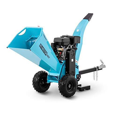 hillvert Biotrituratore A Scoppio Trituratore Rami Trita Rami HT-HECTOR 420T (Benzina, 15 CV, 120 mm)
