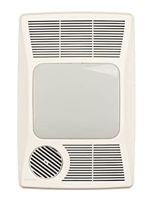Broan 100HFL Directionally-Adjustable Bath Fan with Heater and Light