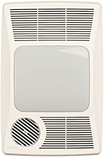 Broan-NuTone 100HL Directionally-Adjustable Bath Fan with Heater and Fluorescent Light
