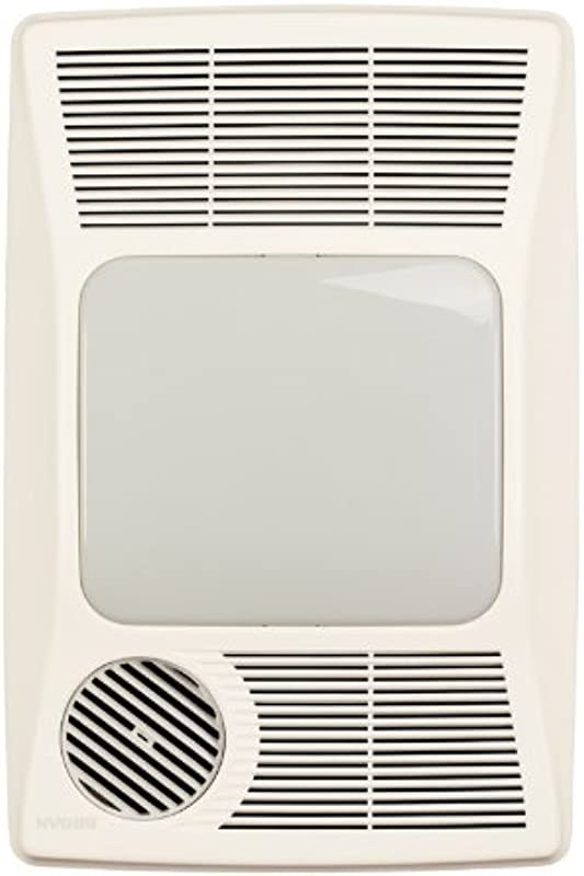 Broan NuTone 100HL Directionally Adjustable Bath Fan With Heater And Fluorescent Light