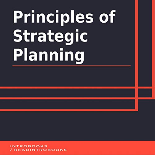 Principles of Strategic Planning audiobook cover art