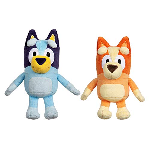 "Bluey & Bingo 8"""" Mini Plush Bundle - 2 Pack, Multicolor (13066)"