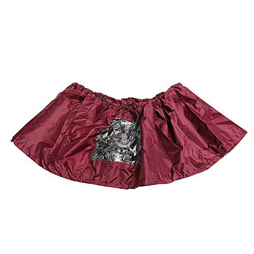 KUNSE Dark Purple Air Conditioner PU Reiniging Wassen Schoon Waterdichte Cover voor 1P-1.5P