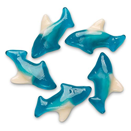 FirstChoiceCandy Gummy Blue Mini Shark