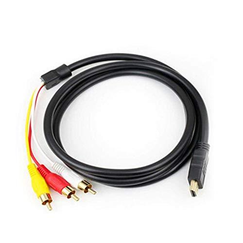 ghfcffdghrdshdfh HDMI naar AV HDMI naar 3RCA audio videokabel HDMI naar AV 3RCA kabel