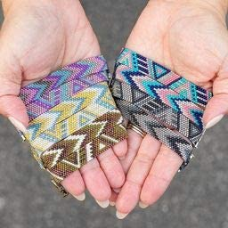 Nightfall Prism Peyote Bracelet Kit Fusion Beads