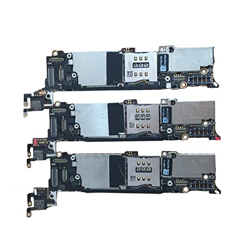 HUOGUOYIN Logikplatine Fit for iPhone 5 Motherboard 16GB 32GB 64GB Mainboard mit vollen Chips IOS installiert Fit for Logic Board (Color : 16GB)