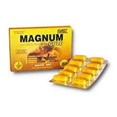 NATURAL: Pure Ingredients Fast Acting Energy Supplement Full Power Up Grade Magnum Gold INCREASE: Improve Energy MAXIMIZE: Maximize Your Energy and Strength EFFECTIVE: Get Real Results, Made In USA GUARANTEE: 100% Satisfaction Guaranteed Or Your Mone...