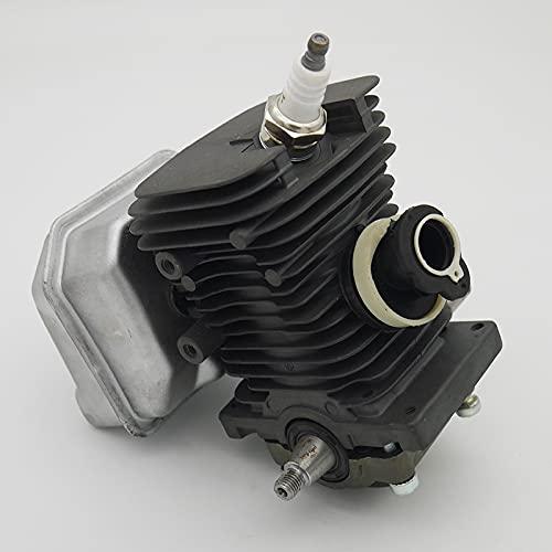NLLeZ 1set 38mm Motor Motor Cilindro pistón cigüeñal Kit de silenciador Ajuste para STIHL MS180 MS 018 180 Herramientas de Motosierra de Gas Herramientas de Recambio