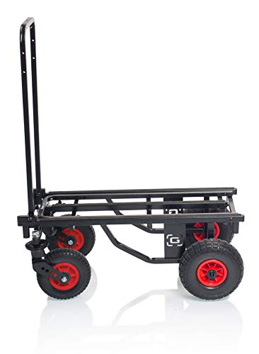 """Gator Frameworks All-Terrain Folding Multi-Utility Cart with 30-52"""" Extension & 500 lbs. Load Capacity (GFW-UTL-CART52AT)"""