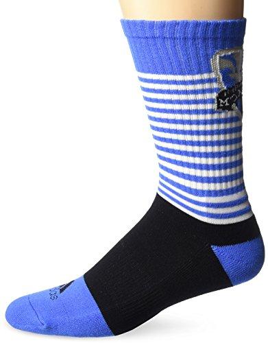 adidas MLS SP17 - Calcetines para hombre, color negro, talla 9-11