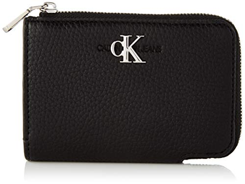 Calvin Klein Wallets, Carteras para Mujer, Black, One Size