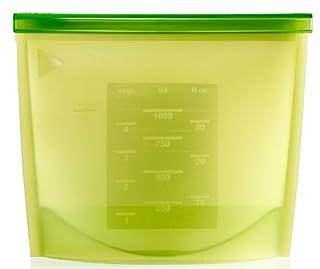 Lekue 1-Liter Fresh Bag, Green (B0049EQLUQ)   Amazon price tracker / tracking, Amazon price history charts, Amazon price watches, Amazon price drop alerts