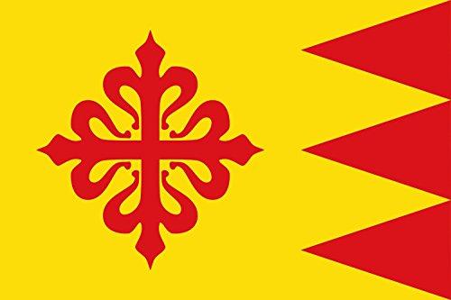 magFlags Bandera Large Amarilla | Bandera Paisaje | 1.35m² | 90x150cm