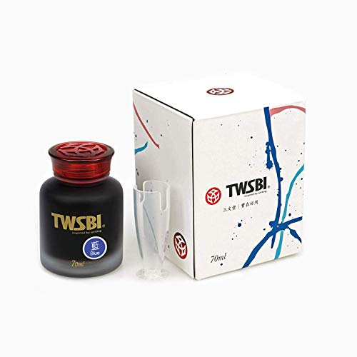 Twsbi Ink Blu - Tinta para pluma estilográfica (70 ml)