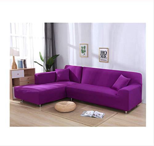 misshxh Sofabezug, L-Förmiger Sofabezug In Candy Purple Stretch, Geeignet Für Das Wohnzimmer-Sofa 90-140cm