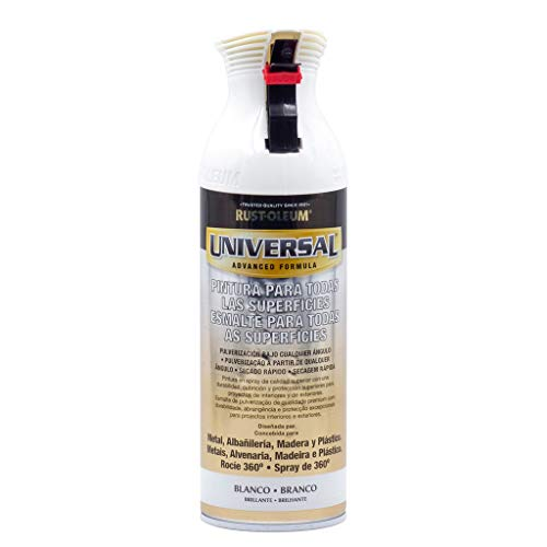 Spray Universal Brillante Rust-Oleum 400ml - Blanco