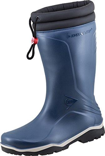Dunlop Dunlop Blizzard gefütterte Herren Gummistiefel, Blau (Blue/Grey/Black), 46 EU