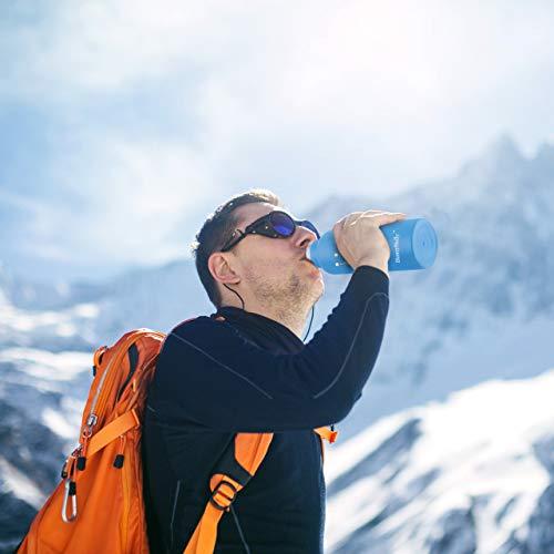 HoneyHolly 水筒 ステンレスボトル 魔法瓶 真空断熱 直飲み 保温保冷 男女兼用 子供用 350ml&500ml&600ml&750ml大容量 ウォーターボトル スポーツボトル アウトドアボトル おしゃれ かわいい 軽い コップ