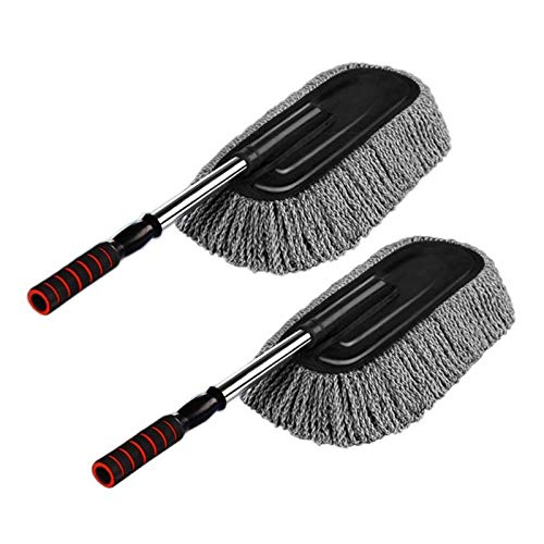 2pcs Car Cleaning Supplies Microfiber Duster...