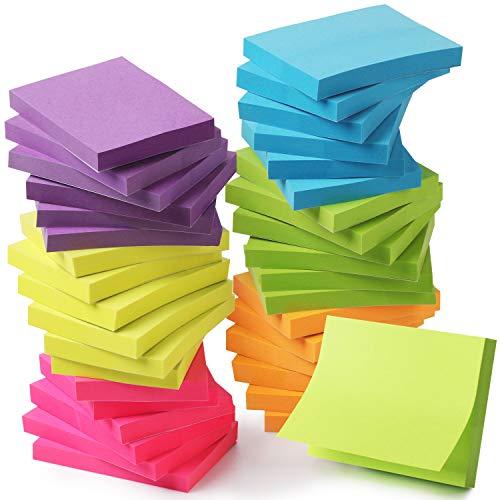 Mr. Pen- Sticky Notes, Sticky Notes 1.5x2 inch, 36 Pads, Small Sticky Note, Colored Sticky Notes, Mini Sticky Note Pads, Stick Notes, Sticky Pad, Colorful Sticky Notes Pack, 1.5x2 Sticky Notes