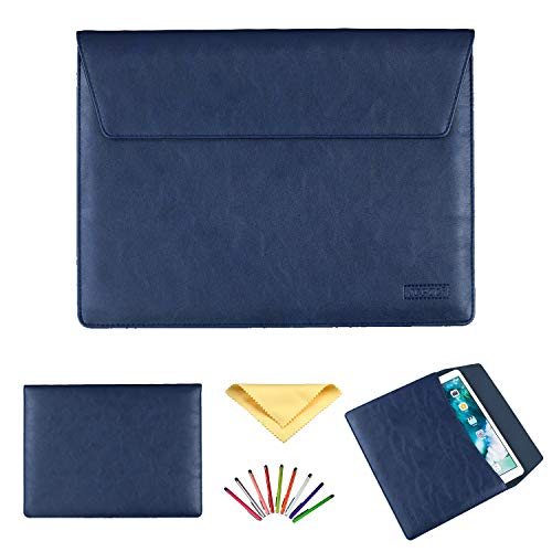 Uliking 11.6-12.9 Inch Laptop Tablet Sleeve Bag Case for iPad Pro 12.9/MacBook Pro/air/Surface Pro 3/4/5/6 12.2' 12.3' 12' 11' 11.6' for Huawei Lenovo for Dell for HP ASUS Acer Chromebook, Blue
