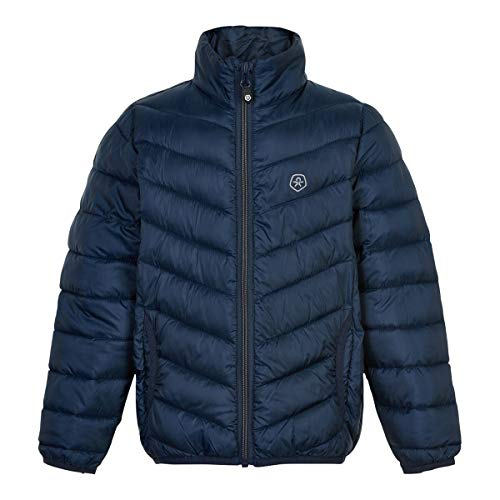 Color Kids Jacket Packable Quilted Giacca, Blu Marino, 116 cm Bambino
