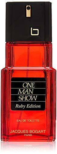 Jacques Bogart One Man Show Eau de Toilette Spray (Ruby Edition)