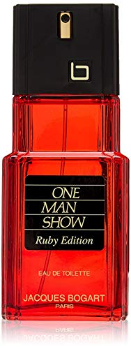 Jacques Bogart One Man Show Eau de Toilette Zerstäuber für Männer, Ruby Ausgabe, 100 ml, 137017
