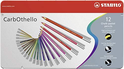スタビロ 水彩色鉛筆 カーブオテロ 12色セット 1412-6