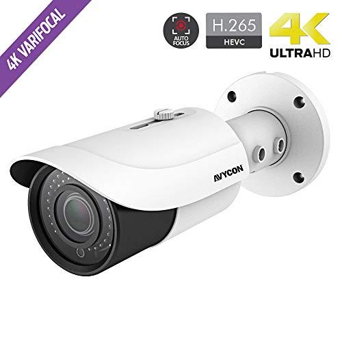 Great Price! AvyCon AVC-BHN81AVT 4K/8.4MP Network IR Weatherproof Bullet Camera