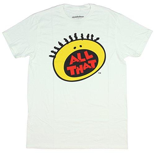 90s All That White Nickelodeon T-Shirt-Medium