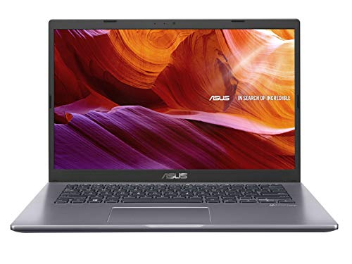 ASUS VivoBook 14 X409UA-EK362TS Intel Core i3 7th Gen 14-inch FHD Compact and Light Laptop (4GB RAM/256GB NVMe SSD/Windows 10/MS-Office 2019/Integrated Graphics/FP Reader/1.60 kg), Slate Grey