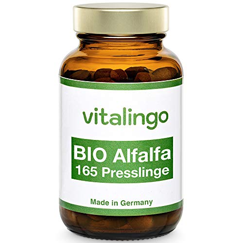 BIO Alfalfa (Luzerne) Presslinge - 165 Tabletten à 400mg